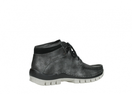 wolky lace up boots 04728 cross winter 81280 metal grey leather_11