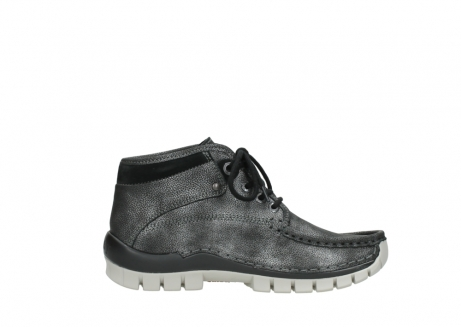 wolky lace up boots 04728 cross winter 81280 metal grey leather_13