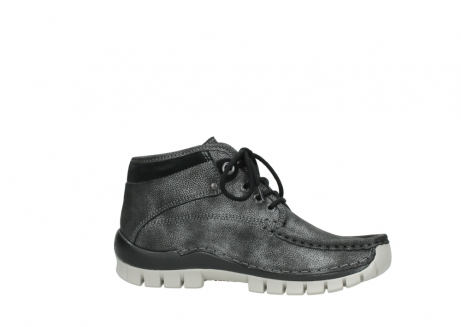 wolky lace up boots 04728 cross winter 81280 metal grey leather_14