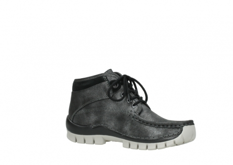 wolky lace up boots 04728 cross winter 81280 metal grey leather_15