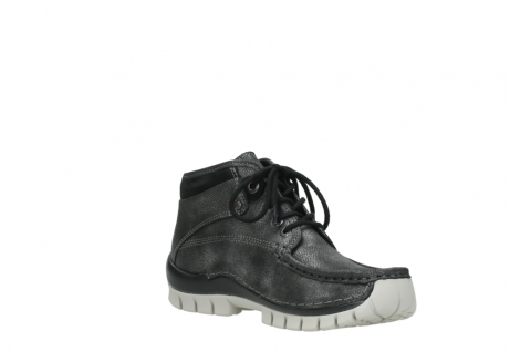 wolky lace up boots 04728 cross winter 81280 metal grey leather_16