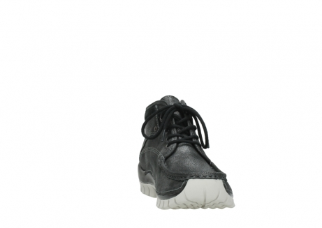 wolky lace up boots 04728 cross winter 81280 metal grey leather_18