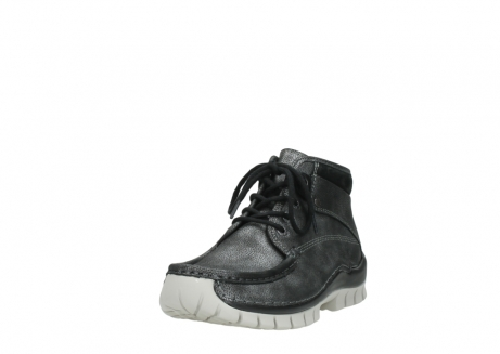 wolky lace up boots 04728 cross winter 81280 metal grey leather_21