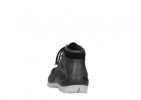 wolky lace up boots 04728 cross winter 81280 metal grey leather_6