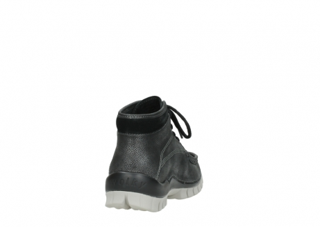 wolky lace up boots 04728 cross winter 81280 metal grey leather_8