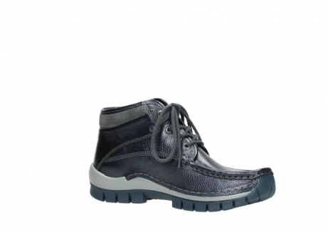 wolky veterboots 04728 cross winter 81800 blauw metallic leer_15