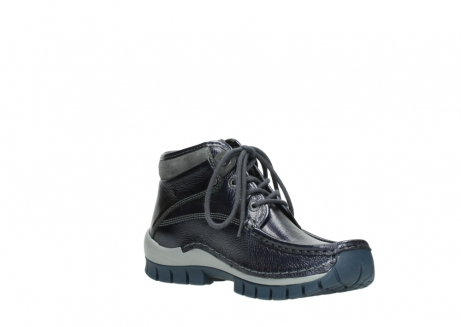 wolky veterboots 04728 cross winter 81800 blauw metallic leer_16