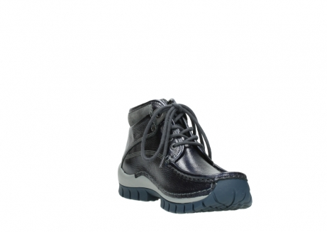 wolky veterboots 04728 cross winter 81800 blauw metallic leer_17