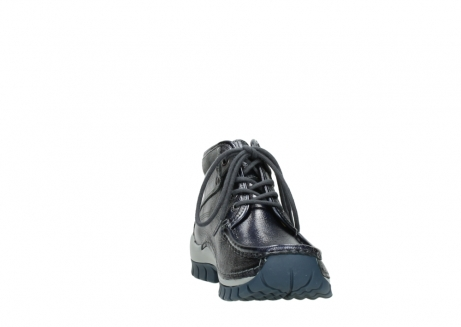 wolky veterboots 04728 cross winter 81800 blauw metallic leer_18