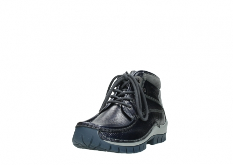 wolky veterboots 04728 cross winter 81800 blauw metallic leer_21