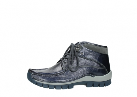 wolky lace up boots 04728 cross winter 81800 blue metallic leather_24