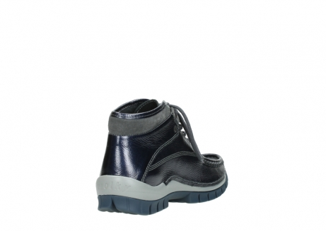 wolky veterboots 04728 cross winter 81800 blauw metallic leer_9