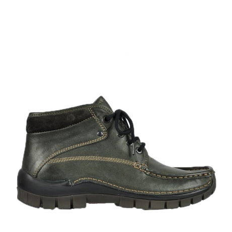 wolky bottines a lacets 04729 cross winter cw 20220 cuir anthracite