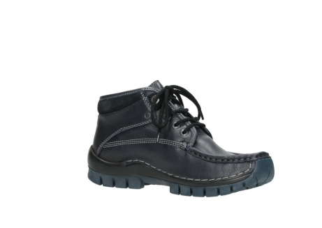 wolky bottines a lacets 04729 cross winter cw 30800 cuir bleu_15
