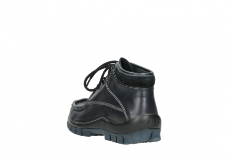wolky bottines a lacets 04729 cross winter cw 30800 cuir bleu_5