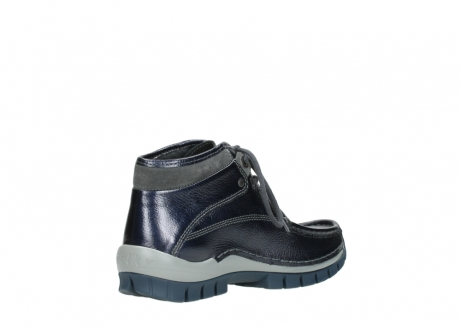 wolky veterboots 04729 cross winter cw 81800 blauw metallic leer_10