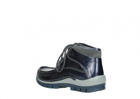 wolky veterboots 04729 cross winter cw 81800 blauw metallic leer_4