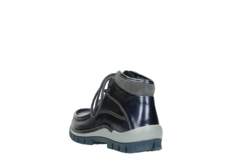 wolky veterboots 04729 cross winter cw 81800 blauw metallic leer_5