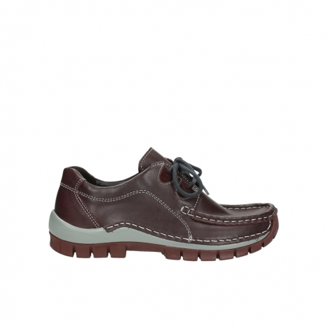 wolky lace up boots 04732 kick winter 20540 burgundy grey leather
