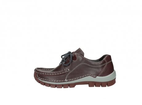 wolky lace up boots 04732 kick winter 20540 burgundy grey leather_1