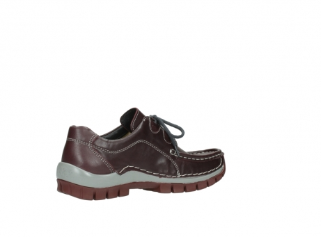 wolky lace up boots 04732 kick winter 20540 burgundy grey leather_11