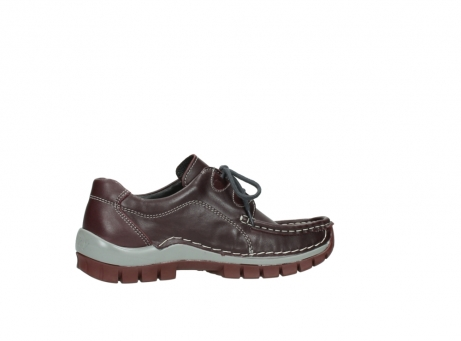 wolky lace up boots 04732 kick winter 20540 burgundy grey leather_12