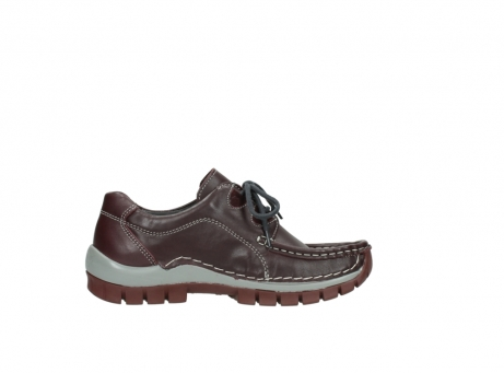 wolky lace up boots 04732 kick winter 20540 burgundy grey leather_13