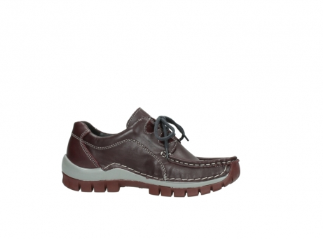 wolky lace up boots 04732 kick winter 20540 burgundy grey leather_14