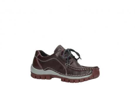 wolky lace up boots 04732 kick winter 20540 burgundy grey leather_15