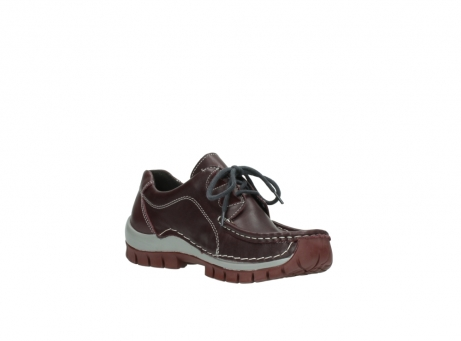 wolky lace up boots 04732 kick winter 20540 burgundy grey leather_16