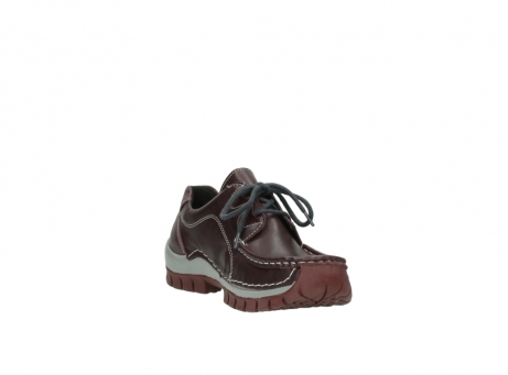 wolky lace up boots 04732 kick winter 20540 burgundy grey leather_17