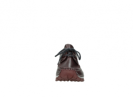 wolky lace up boots 04732 kick winter 20540 burgundy grey leather_19