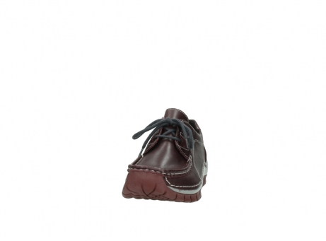 wolky lace up boots 04732 kick winter 20540 burgundy grey leather_20