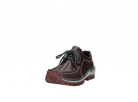 wolky lace up boots 04732 kick winter 20540 burgundy grey leather_21