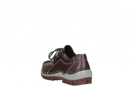 wolky lace up boots 04732 kick winter 20540 burgundy grey leather_5