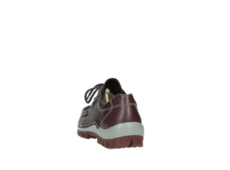 wolky lace up boots 04732 kick winter 20540 burgundy grey leather_6