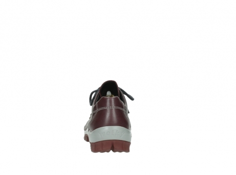 wolky lace up boots 04732 kick winter 20540 burgundy grey leather_7