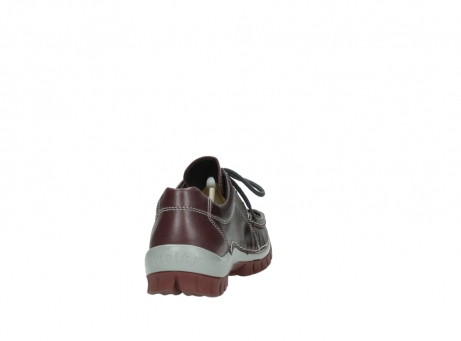 wolky lace up boots 04732 kick winter 20540 burgundy grey leather_8