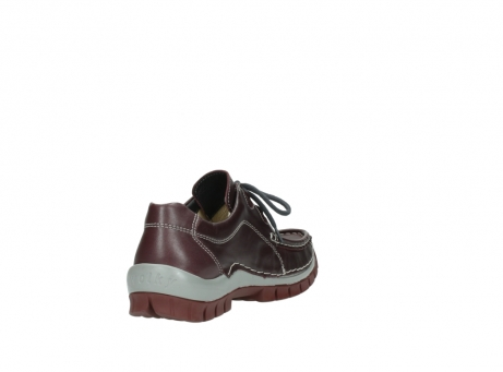 wolky lace up boots 04732 kick winter 20540 burgundy grey leather_9
