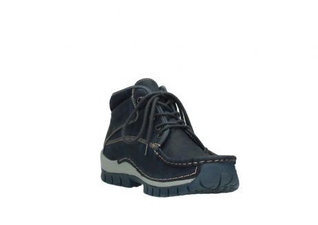 wolky lace up boots 04751 cross men 11802 blue oiled nubuck_17