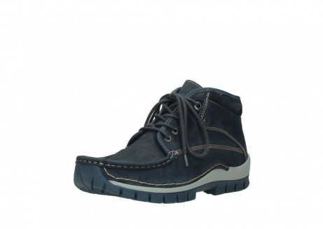 wolky bottines a lacets 04751 cross men 11802 nubuck bleu_22