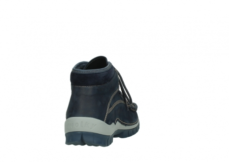 wolky bottines a lacets 04751 cross men 11802 nubuck bleu_8