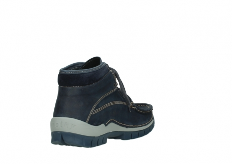 wolky lace up boots 04751 cross men 11802 blue oiled nubuck_9