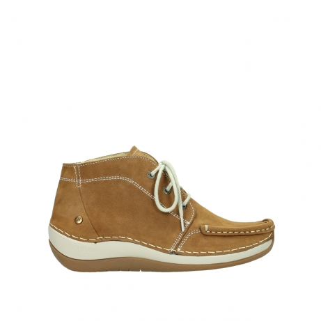 wolky bottines a lacets 04803 olympia 10410 nubuck tobacco