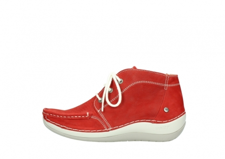 wolky lace up boots 04803 olympia 10570 red summer nubuck_1