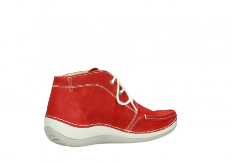 wolky lace up boots 04803 olympia 10570 red summer nubuck_11