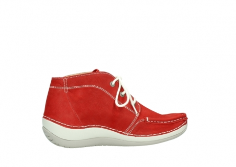 wolky lace up boots 04803 olympia 10570 red summer nubuck_12