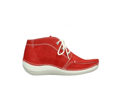 wolky lace up boots 04803 olympia 10570 red summer nubuck_13