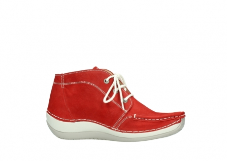 wolky lace up boots 04803 olympia 10570 red summer nubuck_14