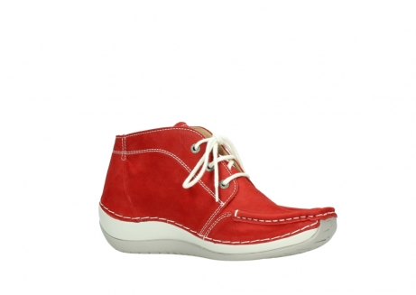 wolky lace up boots 04803 olympia 10570 red summer nubuck_15